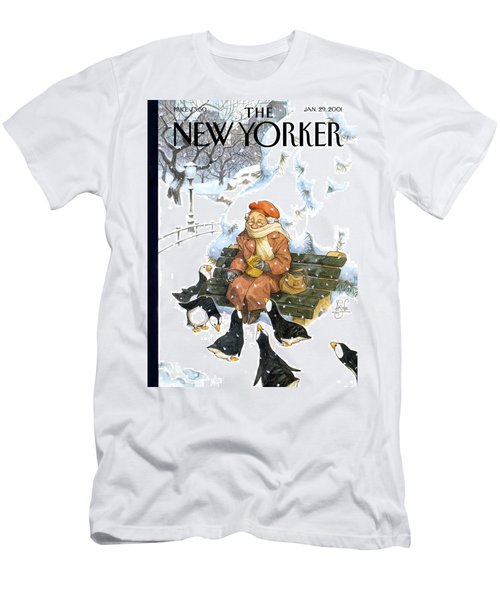 New Yorker January 29th, 2001 Men's T-Shirt (Athletic Fit)