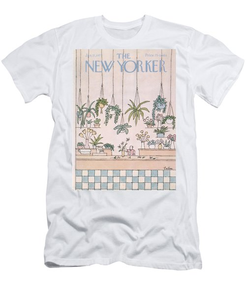 New Yorker January 31st, 1977 Men's T-Shirt (Athletic Fit)