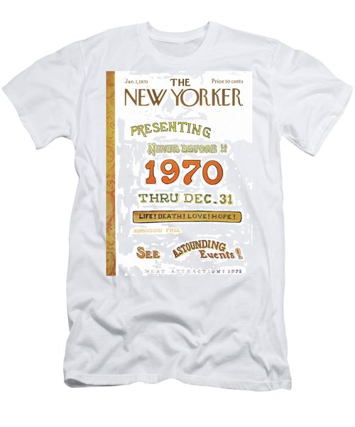 New Yorker January 3rd, 1970 Men's T-Shirt (Athletic Fit)