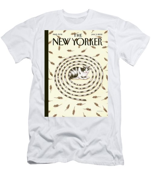 New Yorker January 3rd, 2005 Men's T-Shirt (Athletic Fit)