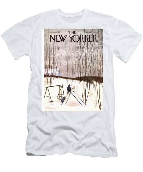 New Yorker January 5th, 1963 Men's T-Shirt (Athletic Fit)