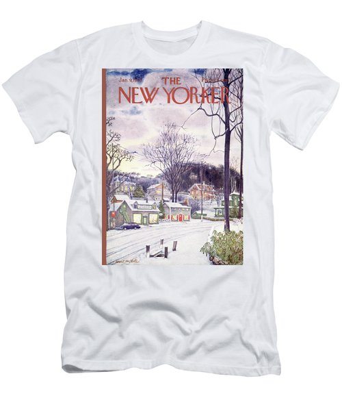 New Yorker January 9th, 1965 Men's T-Shirt (Athletic Fit)
