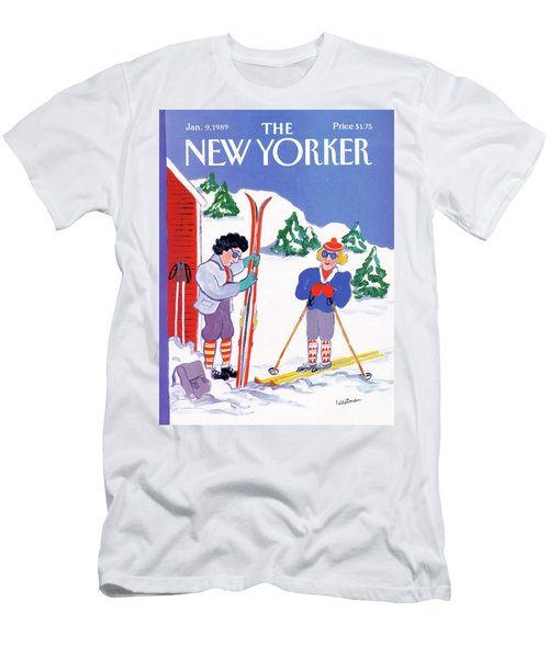 New Yorker January 9th, 1989 Men's T-Shirt (Athletic Fit)
