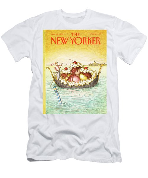 New Yorker July 16th, 1990 Men's T-Shirt (Athletic Fit)