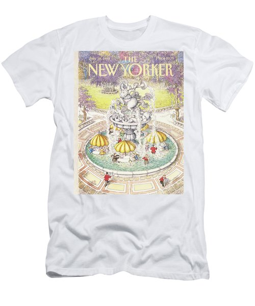 New Yorker July 18th, 1988 Men's T-Shirt (Athletic Fit)