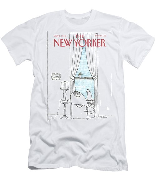 New Yorker July 1st, 1985 Men's T-Shirt (Athletic Fit)