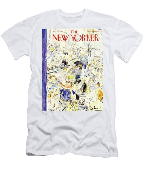 New Yorker July 20 1940 Men's T-Shirt (Athletic Fit)