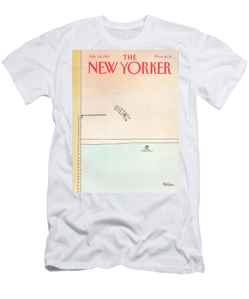 New Yorker July 20th, 1981 Men's T-Shirt (Athletic Fit)