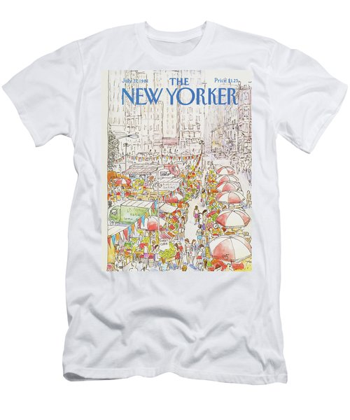 New Yorker July 27th, 1981 Men's T-Shirt (Athletic Fit)