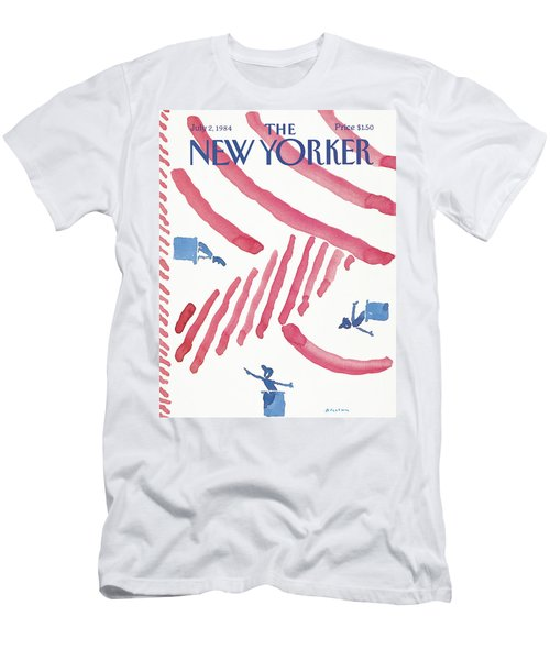 New Yorker July 2nd, 1984 Men's T-Shirt (Athletic Fit)