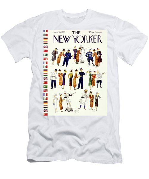 New Yorker July 30 1938 Men's T-Shirt (Athletic Fit)