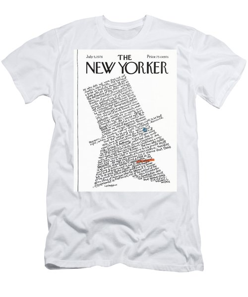 New Yorker July 5th, 1976 Men's T-Shirt (Athletic Fit)
