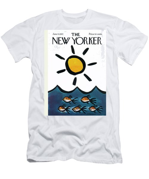 New Yorker June 10th, 1972 Men's T-Shirt (Athletic Fit)