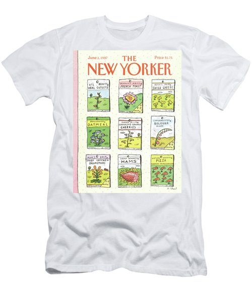 New Yorker June 1st, 1987 Men's T-Shirt (Athletic Fit)