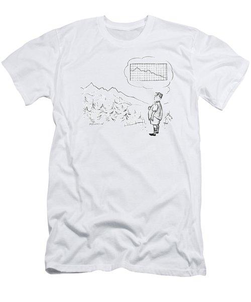 New Yorker June 21st, 1958 Men's T-Shirt (Athletic Fit)