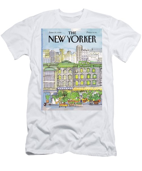 New Yorker June 25th, 1984 Men's T-Shirt (Athletic Fit)