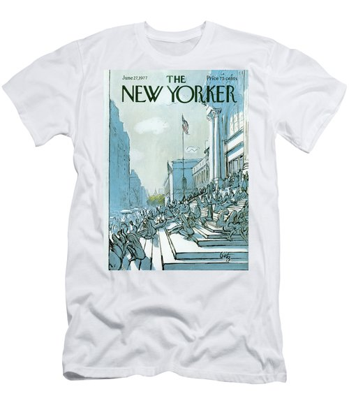 New Yorker June 27th, 1977 Men's T-Shirt (Athletic Fit)