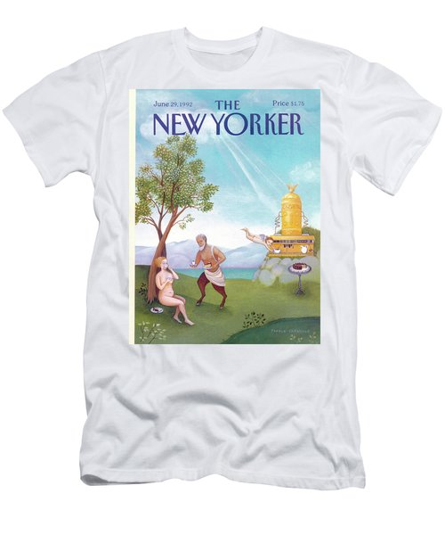 New Yorker June 29th, 1992 Men's T-Shirt (Athletic Fit)