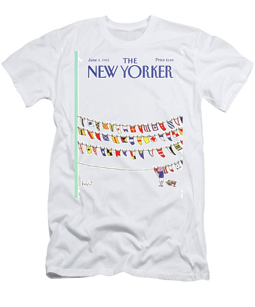 New Yorker June 3rd, 1985 Men's T-Shirt (Athletic Fit)