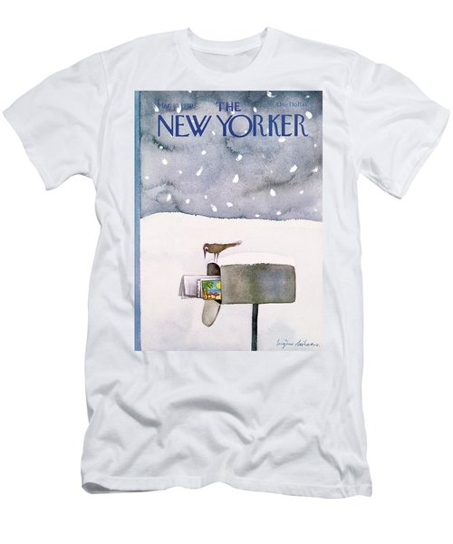 New Yorker March 10th, 1980 Men's T-Shirt (Athletic Fit)