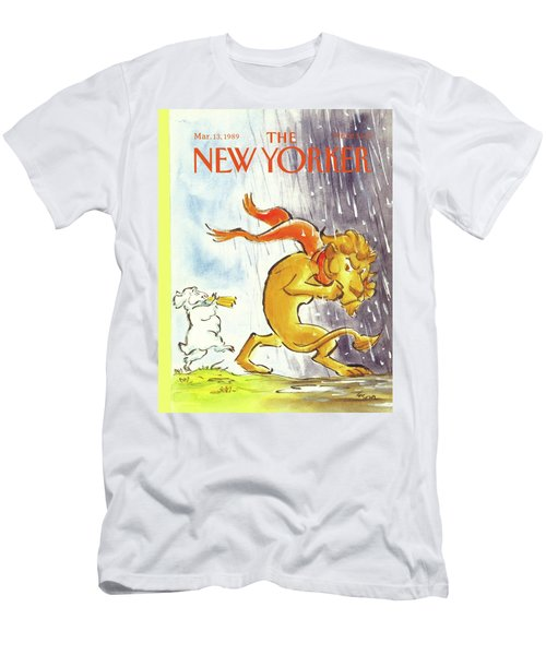 New Yorker March 13th, 1989 Men's T-Shirt (Athletic Fit)
