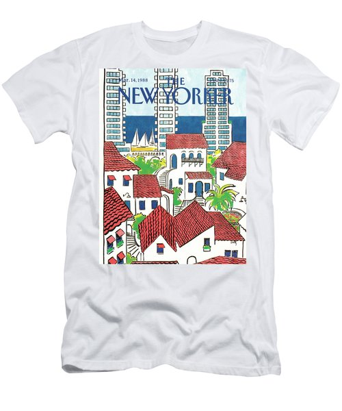 New Yorker March 14th, 1988 Men's T-Shirt (Athletic Fit)