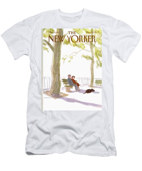 New Yorker March 23rd, 1981 Men's T-Shirt (Athletic Fit)
