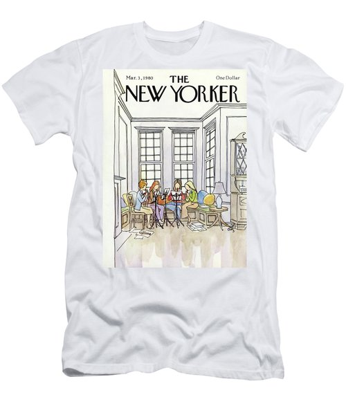 New Yorker March 3rd, 1980 Men's T-Shirt (Athletic Fit)