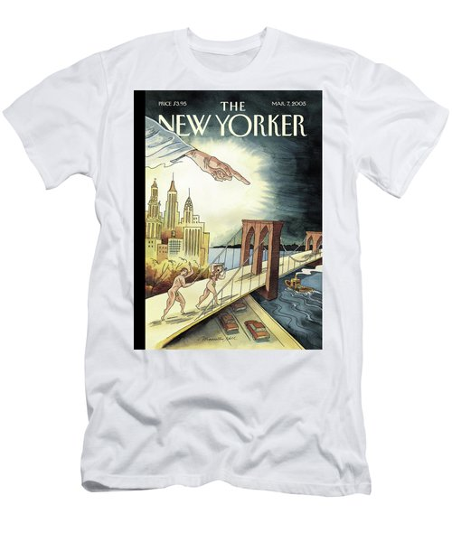New Yorker March 7, 2005 Men's T-Shirt (Athletic Fit)