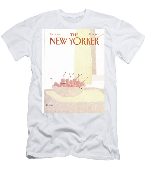 New Yorker March 8th, 1982 Men's T-Shirt (Athletic Fit)