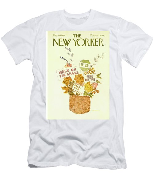 New Yorker May 10th, 1969 Men's T-Shirt (Athletic Fit)