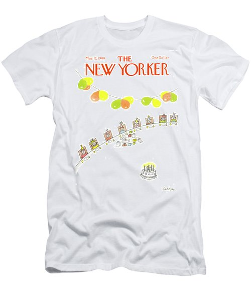 New Yorker May 12th, 1980 Men's T-Shirt (Athletic Fit)