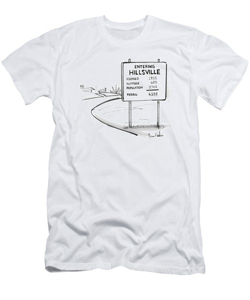 New Yorker May 17th, 1976 Men's T-Shirt (Athletic Fit)