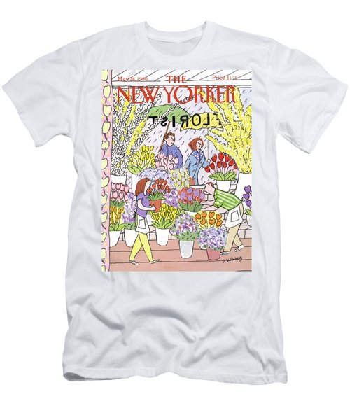New Yorker May 28th, 1990 Men's T-Shirt (Athletic Fit)