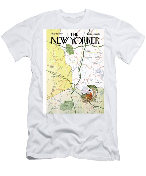 New Yorker May 31st, 1969 Men's T-Shirt (Athletic Fit)