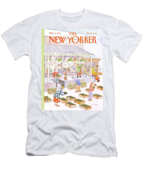 New Yorker May 6th, 1985 Men's T-Shirt (Athletic Fit)