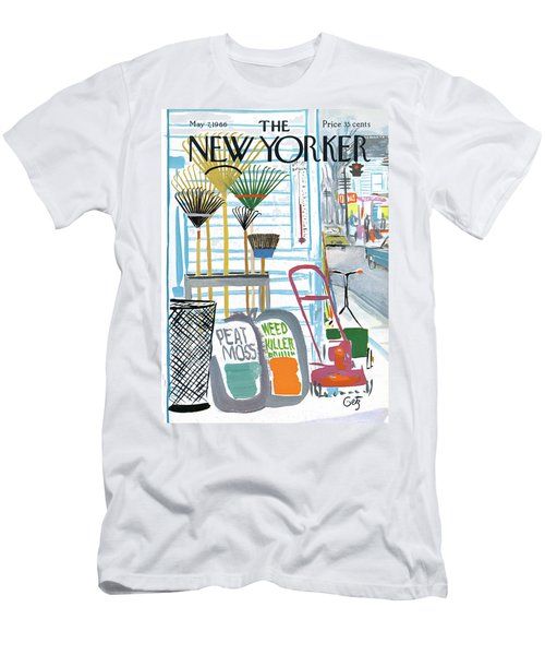 New Yorker May 7th, 1966 Men's T-Shirt (Athletic Fit)