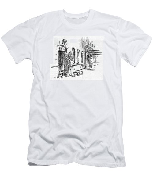 New Yorker November 11th, 1944 Men's T-Shirt (Athletic Fit)