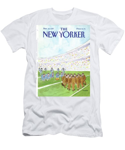 New Yorker November 16th, 1987 Men's T-Shirt (Athletic Fit)