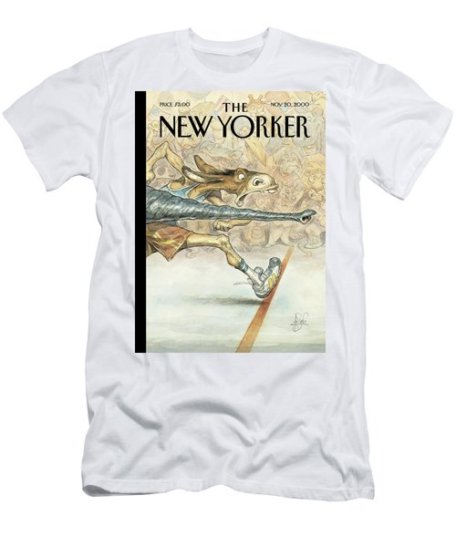 New Yorker November 20th, 2000 Men's T-Shirt (Athletic Fit)