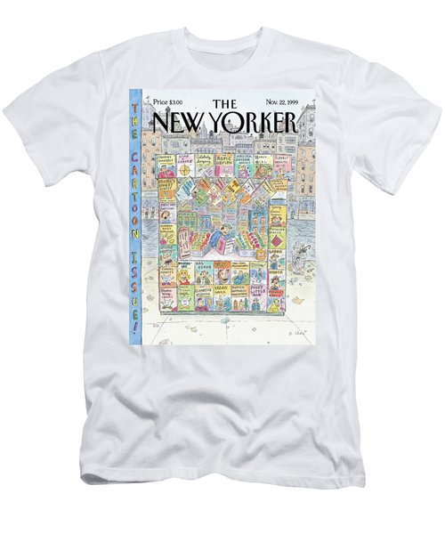 New Yorker November 22nd, 1999 Men's T-Shirt (Athletic Fit)