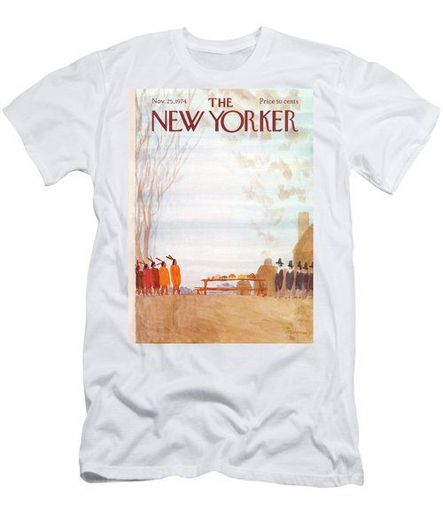 New Yorker November 25th, 1974 Men's T-Shirt (Athletic Fit)