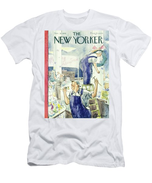 New Yorker November 30 1940 Men's T-Shirt (Athletic Fit)