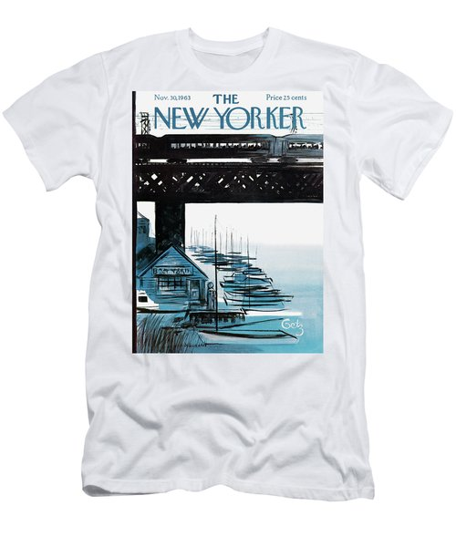 New Yorker November 30th, 1963 Men's T-Shirt (Athletic Fit)