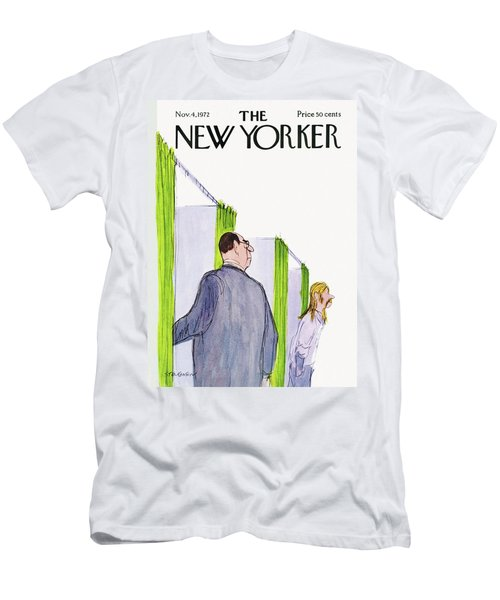 New Yorker November 4th, 1972 Men's T-Shirt (Athletic Fit)
