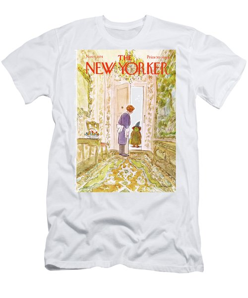 New Yorker November 4th, 1974 Men's T-Shirt (Athletic Fit)