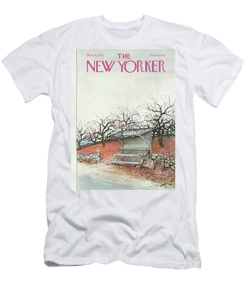 New Yorker November 6th, 1978 Men's T-Shirt (Athletic Fit)