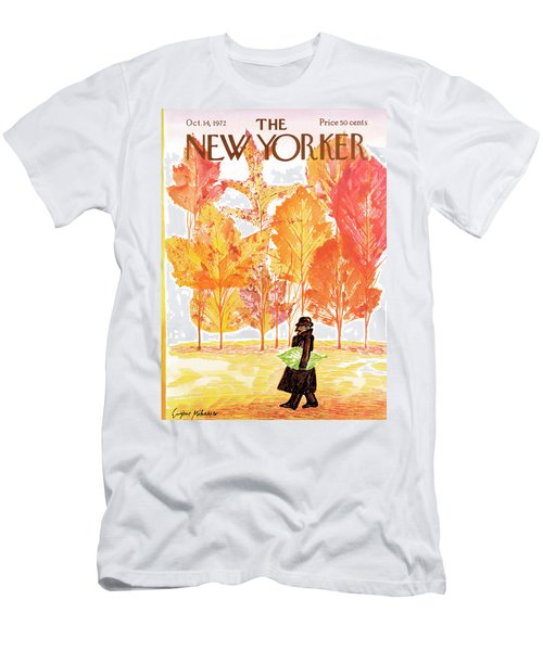 New Yorker October 14th, 1972 Men's T-Shirt (Athletic Fit)