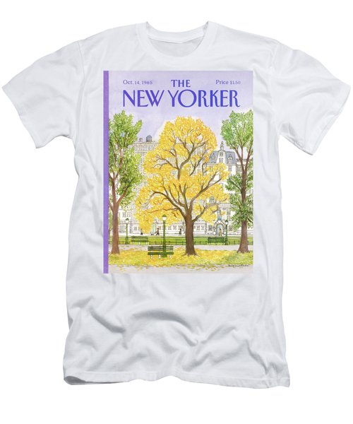 New Yorker October 14th, 1985 Men's T-Shirt (Athletic Fit)