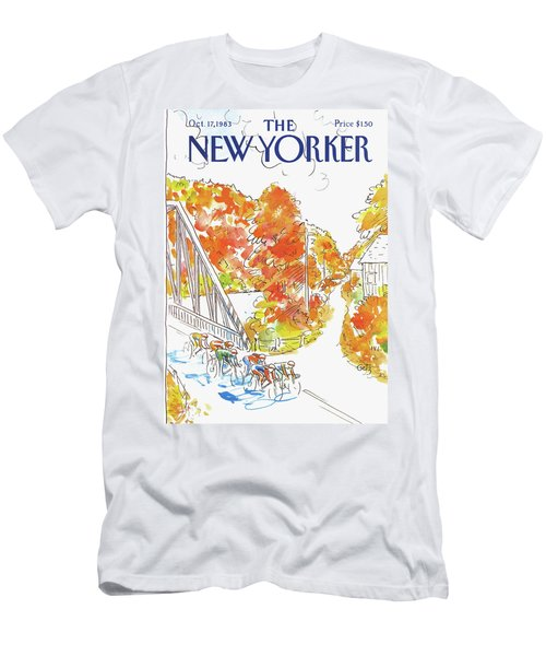 New Yorker October 17th, 1983 Men's T-Shirt (Athletic Fit)